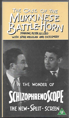 The Case Of The Mukkinese Battle-Horn Video Pal Uk Format Peter Sellers Vgc