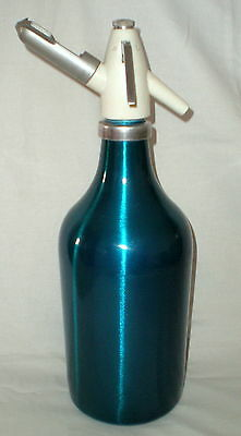 Vintage Russian Soviet Siphon Soda Maker Aluminum USSR Seltzer Bottle CO Water