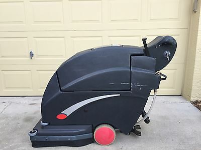 Used Viper Fang 20 walk behind automatic floor scrubber and dryer