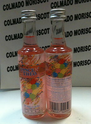 VODKA VINCE N' THEO BUBBLE GUM 37,5% 50m glass miniatura mignonette minibottle
