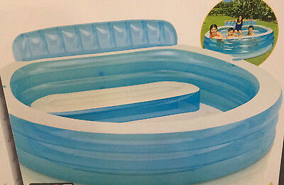 Intex Swim Centre Family Lounge Pool Fantastic Suitable Kids Adults Relax