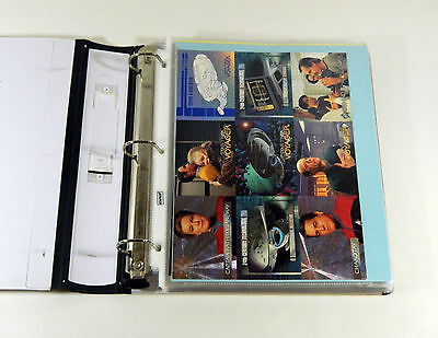 25 Different Star Trek Promo Uncut Ad Sheets + Dealer Sell Sheets In Binder