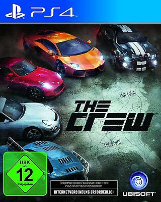 The Crew - Playstation 4 / PS4 (NEU & OVP!)