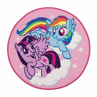My Little Pony Floor Rug Pink & Purple Kids Bedroom Free P+P 100% Official