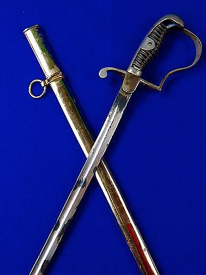 German Germany WWI WW1 Officer's Sword w/ Scabbard
