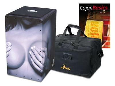 "Voggenreiter Volt Cajon ""the Front"" Schlaginstrument Percussion Set Tasche Bag"