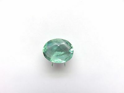 Fluorit-Fluorite facettiert 16,9x13,5 mm 15 ct. U18226