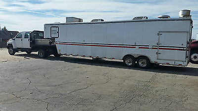 2009 Lincoln Pizza Oven Concession Trailer With Truck