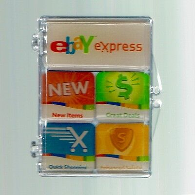 5 Magnets from 2007 eBay Live Boston Express Great Deals Enhanced Safety NEW