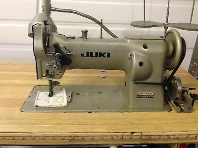 Juki  Lu-562  Walking Foot Vert Bobbin +Reverse  110V Industrial Sewing Machine