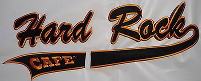 "HARD ROCK  CAFE   LARGE   PATCH    NEW  16""  x 6"""