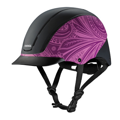 Troxel New 2017 Spirit Purple Boho Safety Riding Helmet Low Profile Horse