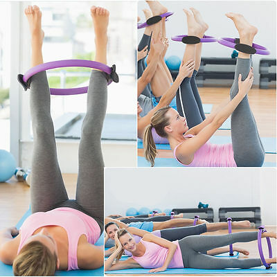 Magic Foam Ring Pilate Exercise Fitness Yoga Dual Grip Circle Tone Workout Thigh