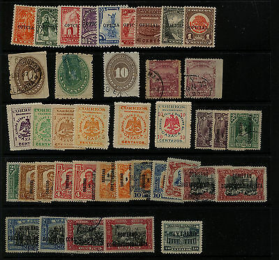 Mexico  nice lot  of  stamps      MS0226