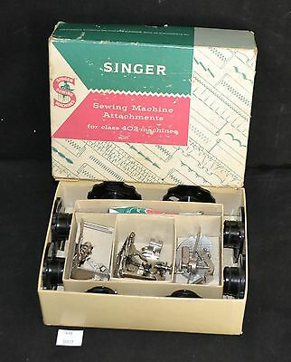 ThriftCHI ~ Vintage Singer Sewing Machine Attachments For Class 403 Machine