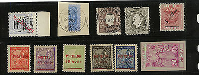 Macau  nice lot of interesting stamps           MS0226