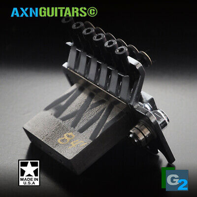 37mm AXN™ SuperWide™ made in USA Model-84' Steel Sustain Block for floyd rose