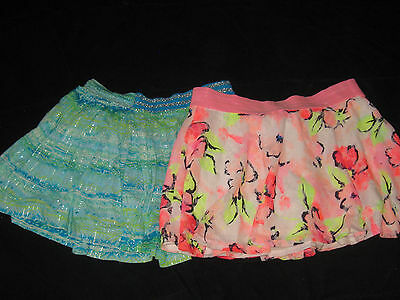 Justice Girls Size 16 Skorts Skirts Lot