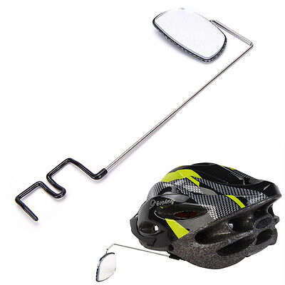 Chic Bike Bicycle Cycling Riding Mirror Helmet Mount Rearview Rear View Eyeglass