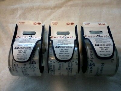3 USPS Ready Post Clear Packaging Tape Dispensers! ~ New! ~ 25% Off Retail!