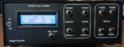 ANTENNA TUNER CONTROLLER-REMOTELY Control Two Stepper Motors (not included)