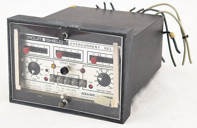 ABB Brown Boveri 51E Circuit Shield 443P3241 Ext Inv Time Overcurrent Relay