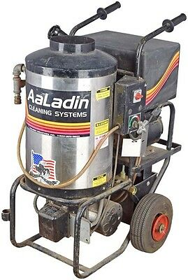 Aaladin Cleaning Systems 1321 175k BTU 1000PSI Heated Pressure Steam Washer
