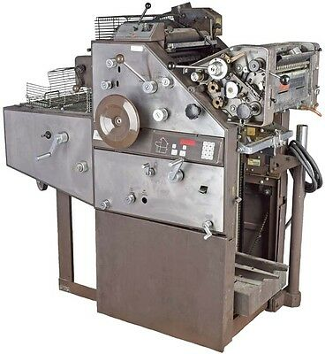 AB Dick Townsend 9850 Offset Printing Press Machine w/ Dampening T-51 Head PARTS
