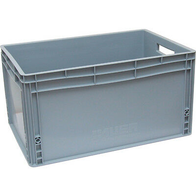Matlock 800X600X320Mm Euro Container Grey