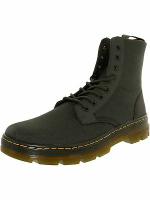 Dr. Martens Men's Combs Nylon Ankle-High Canvas Boot