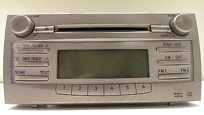 Original 2007-2011 Toyota Camry Radio CD MP3  WMA  AUX 86120-06480