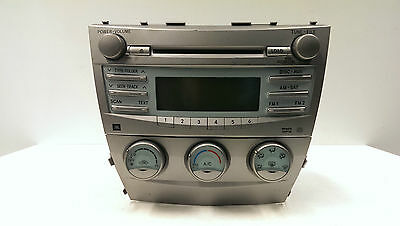 Original 07-09 Toyota Camry AM FM Radio CD MP3 WMA Klimabedientel 86120-06190