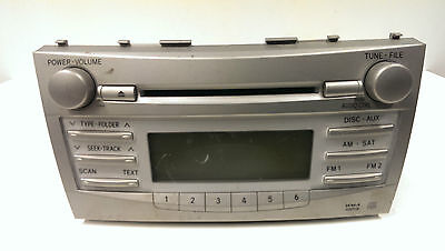 Original 2007-2011 Toyota Camry AM FM Radio CD MP3  WMA  Spieler 86120-06480