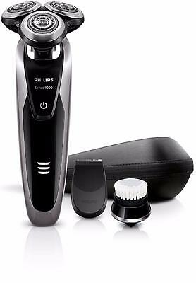 New Philips Wet/Dry Shaver with Smart Click Precision Trimm S9111/43 Series 900