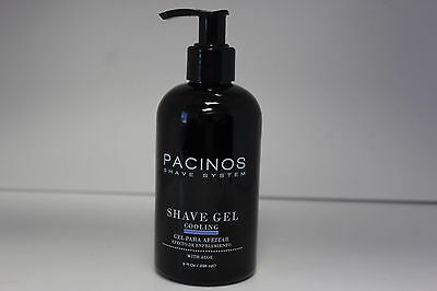 Pacinos Shave System Shave Gel Cooling With Aloe 8 Oz