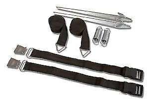 Fiamma Tie Down S Black Awning Anchoring Storm Straps 98655-133 (F45, F65)