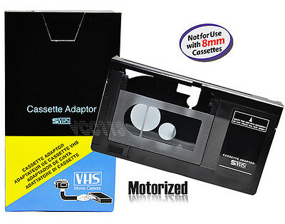 Motorized VHS-C Cassette Adapter for JVC C-P7U CP6BKU C-P6U  Panasonic PV-P1