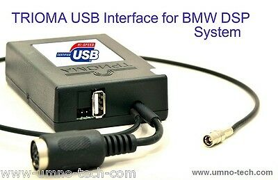 BMW DSP USB MP3 Interface ID3-Text, TRIOMA Flip,E38, E39,Z4,X3,X5, Mp3