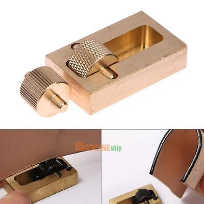Leather Press Edge Roller Leather Edge Creaser Handmade Wooden Handle Carbo Z2O8