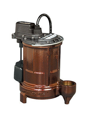 Liberty Pumps 257 1/3 HP  - Cast Iron Submersible Sump Pump w/ Vertical Float