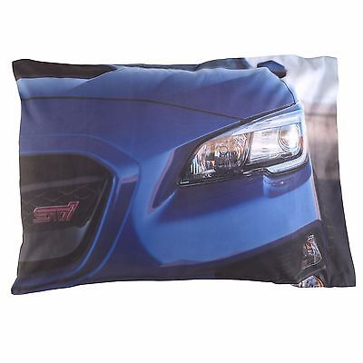 Genuine Subaru STI Pillow Case Impreza WRX Racing Official JDM Rally Gear new