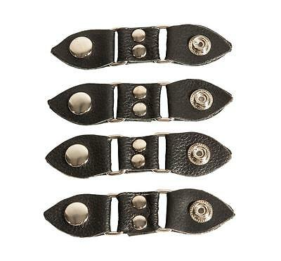 Biker Vest Extender With Chrome Studs