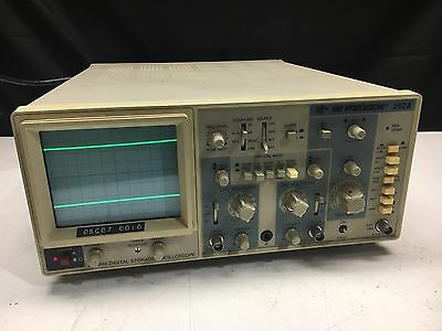 BK Precision 2522, 20 MHz Digital Storage Oscilloscope, Tested