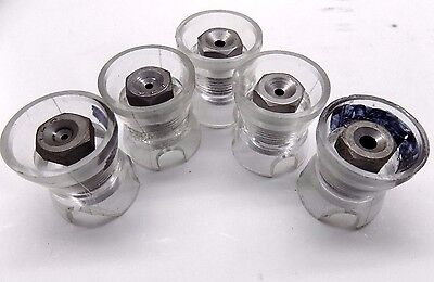10 Pc Magnavon Egg Cup Drill Bushing Tool #40 #30 #21 #10 1/4""