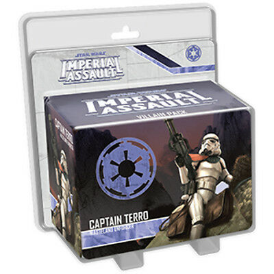 Star Wars Imperial Assault Captain Terro Villain Pack