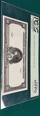 American Bank Note Company Specimen Note PCGS 65 PPQ