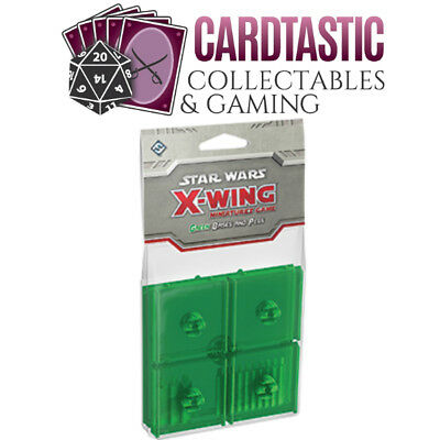 Star Wars X-Wing Green Bases & Pegs