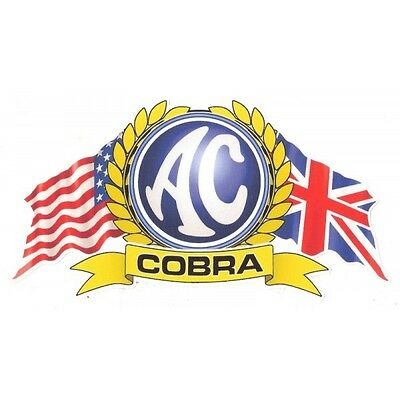 Sticker AC Cobra flags