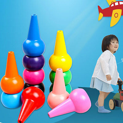 12PCS 3D Finger Non-toxic Crayon Baby Kindergarten Learning Educational for Kids
