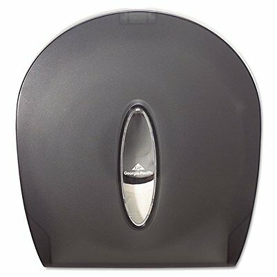 Georgia-Pacific GP 59009 Translucent Smoke Jumbo Jr. Bathroom Tissue Dispenser,
